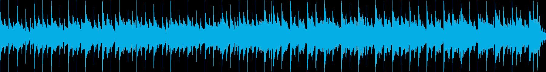 楽しいジングルベル(ループ)前奏無しの再生済みの波形