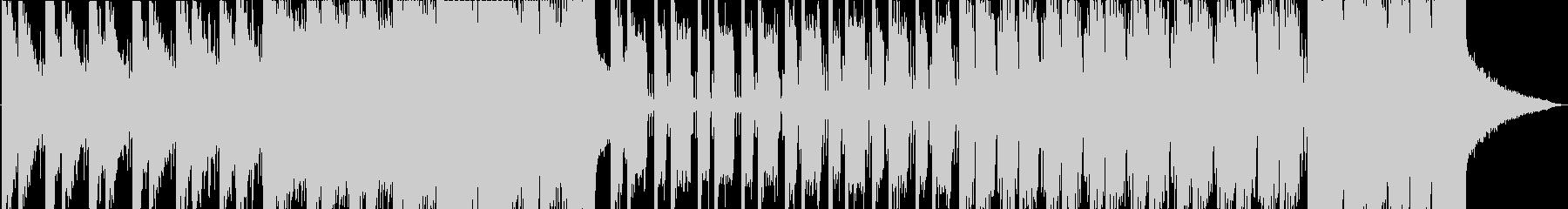 ダークな雰囲気の Future Bassの未再生の波形