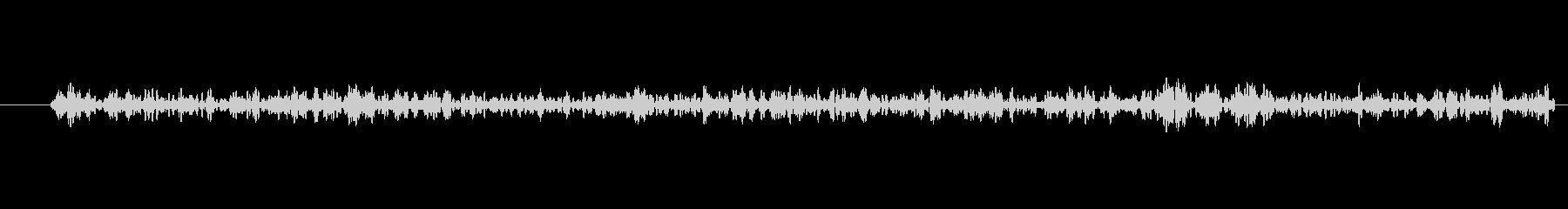 部屋 環境音 低ノイズ崩壊01の未再生の波形