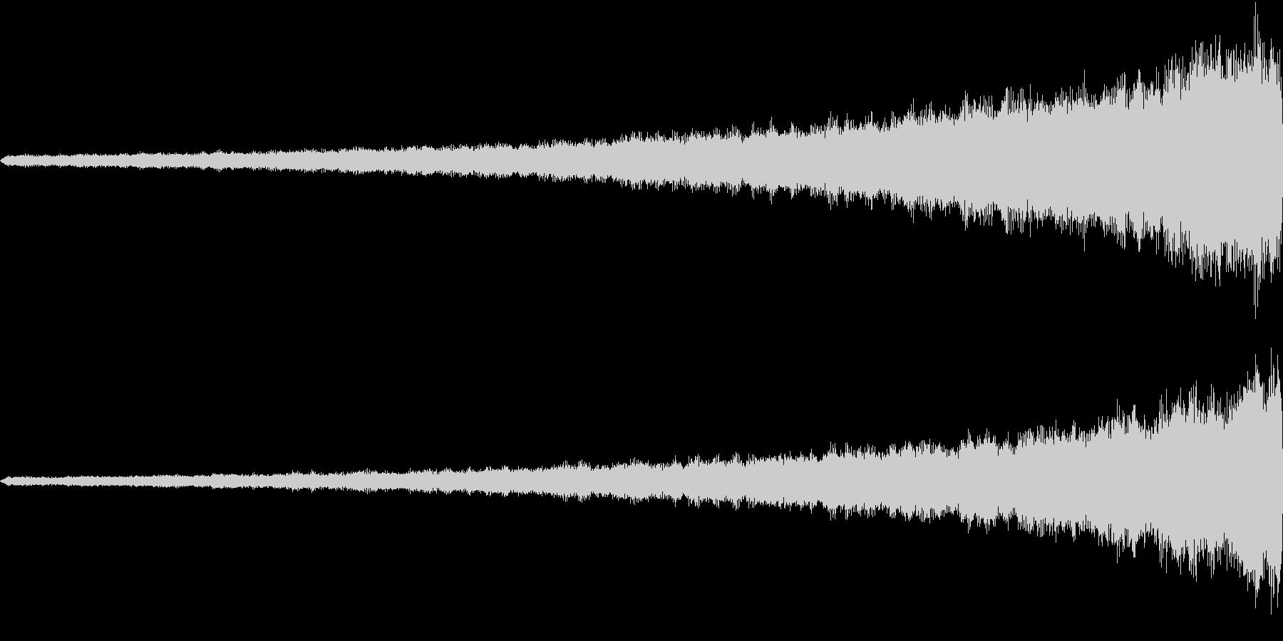 起承転「結」の未再生の波形