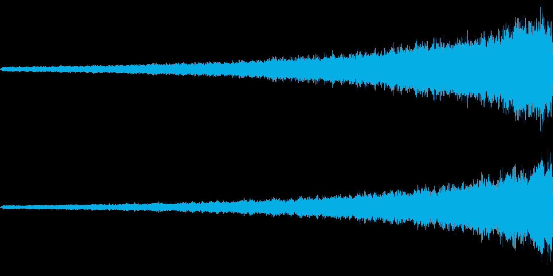 起承転「結」の再生済みの波形