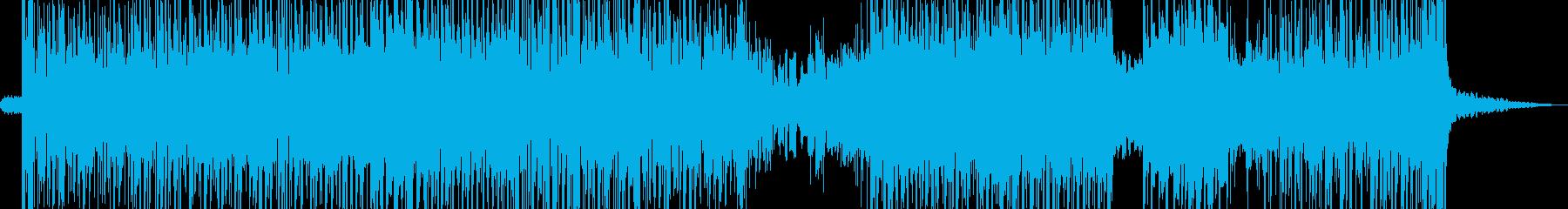 暗躍シーンに・お洒落ビート Aの再生済みの波形