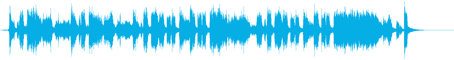 Birthday song with 4 beat a cappella's reproduced waveform