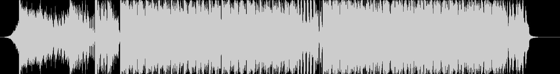 短めなビッグビートのジングルの未再生の波形