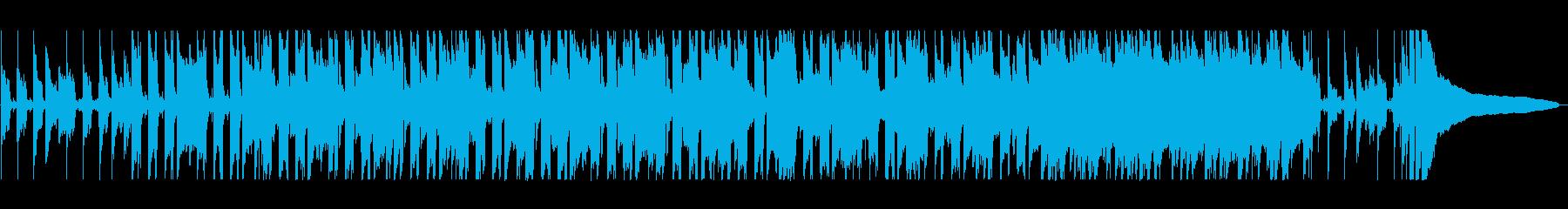 ほのぼのしたポップスの再生済みの波形