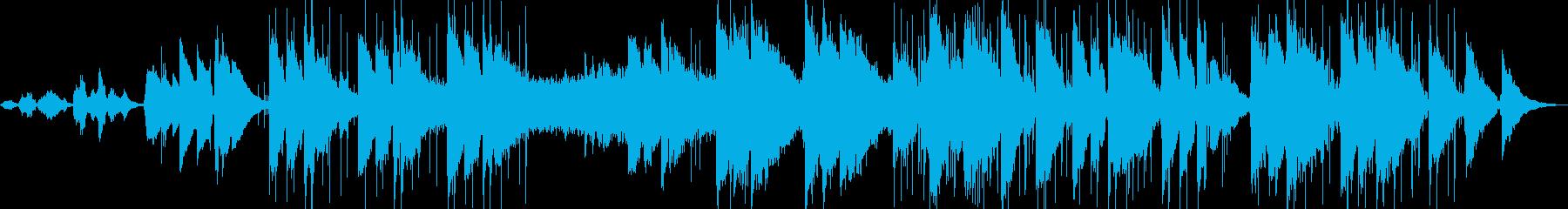 ボーカル、イージーリスニング、背景...の再生済みの波形