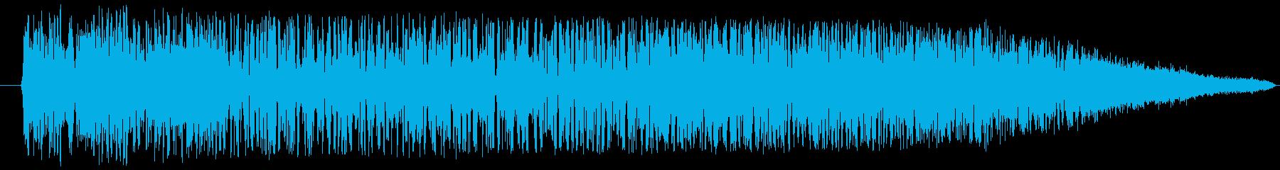 スペイシーフライオフスイープ1の再生済みの波形