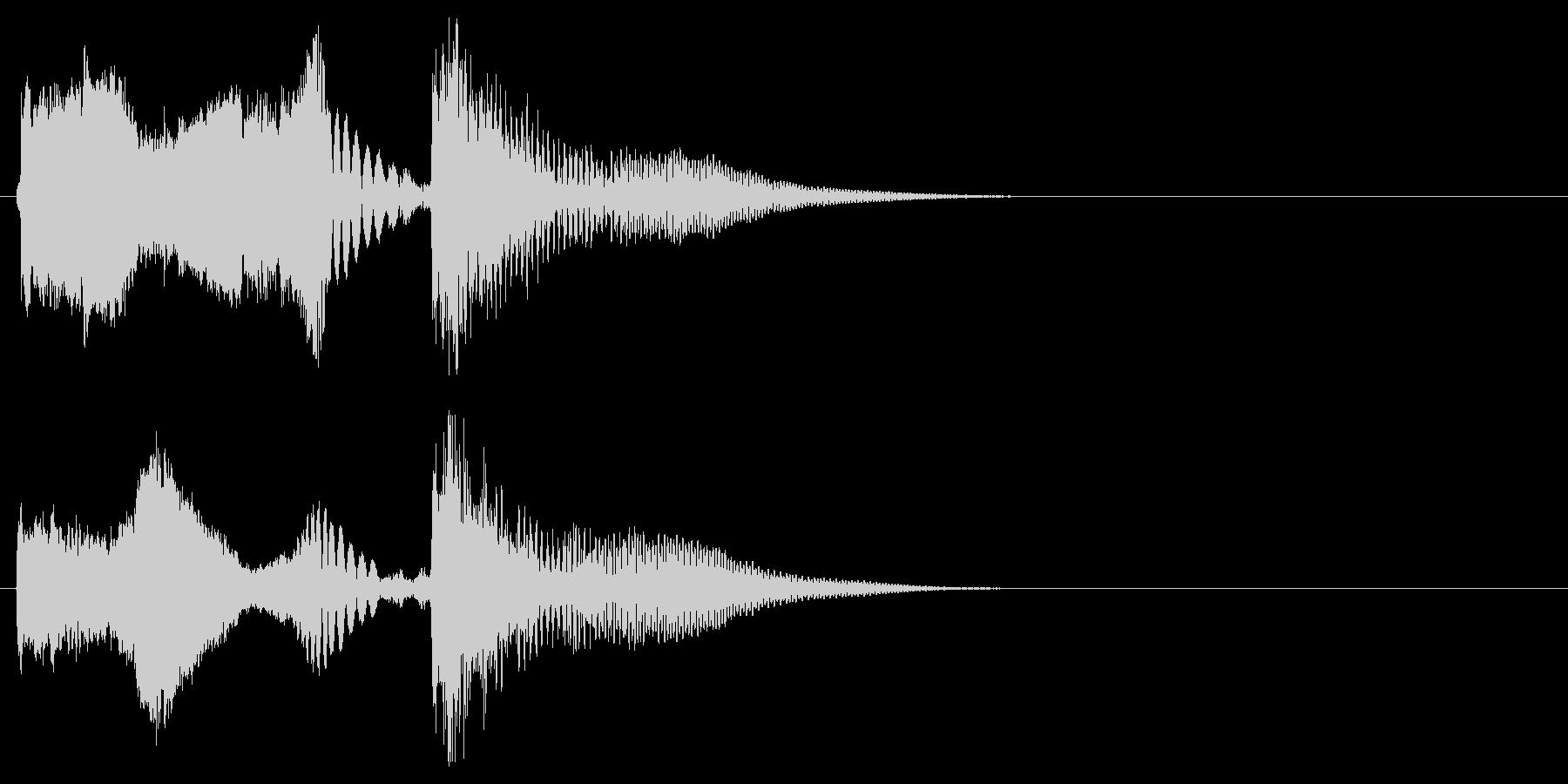 DJ,ラジオ系のサウンドロゴ,ジングル2の未再生の波形