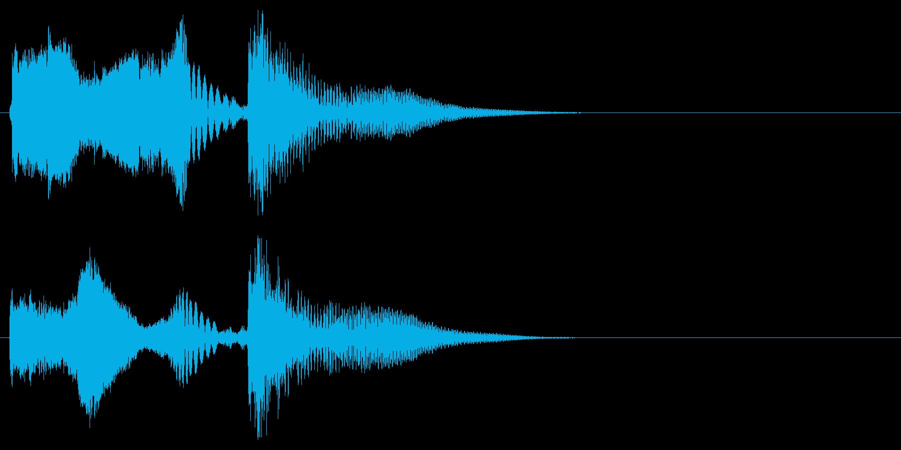 DJ,ラジオ系のサウンドロゴ,ジングル2の再生済みの波形