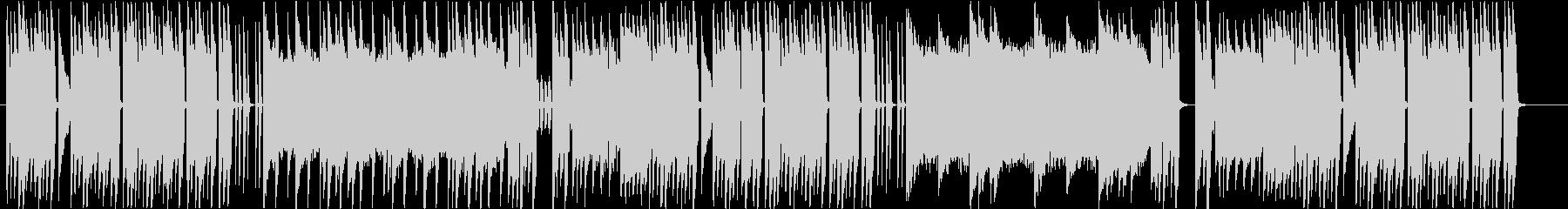 楽しい可愛いチップチューン曲の未再生の波形