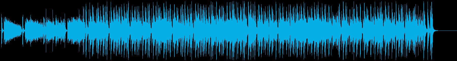 都会的でクールなアシッドジャズ/ファンクの再生済みの波形