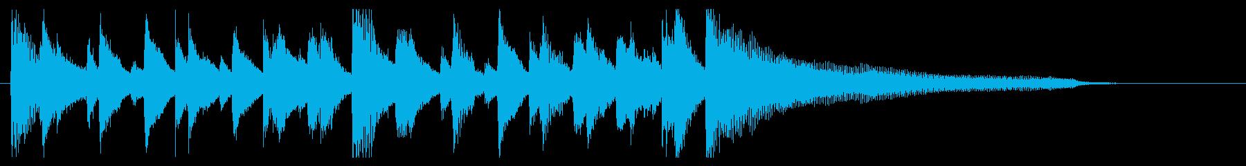 【ベース抜き】陽気オシャレ!ジャズロゴ!の再生済みの波形