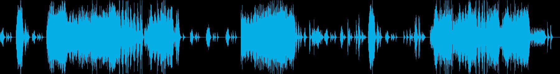 テンペスト第1/ベートーベン・マリンバの再生済みの波形