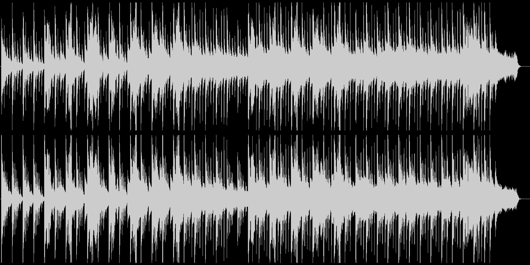 アイヌの歌を使った曲の未再生の波形