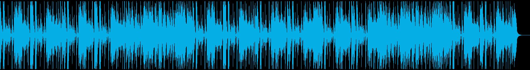 ノリの良いアコギと木琴の曲です。の再生済みの波形
