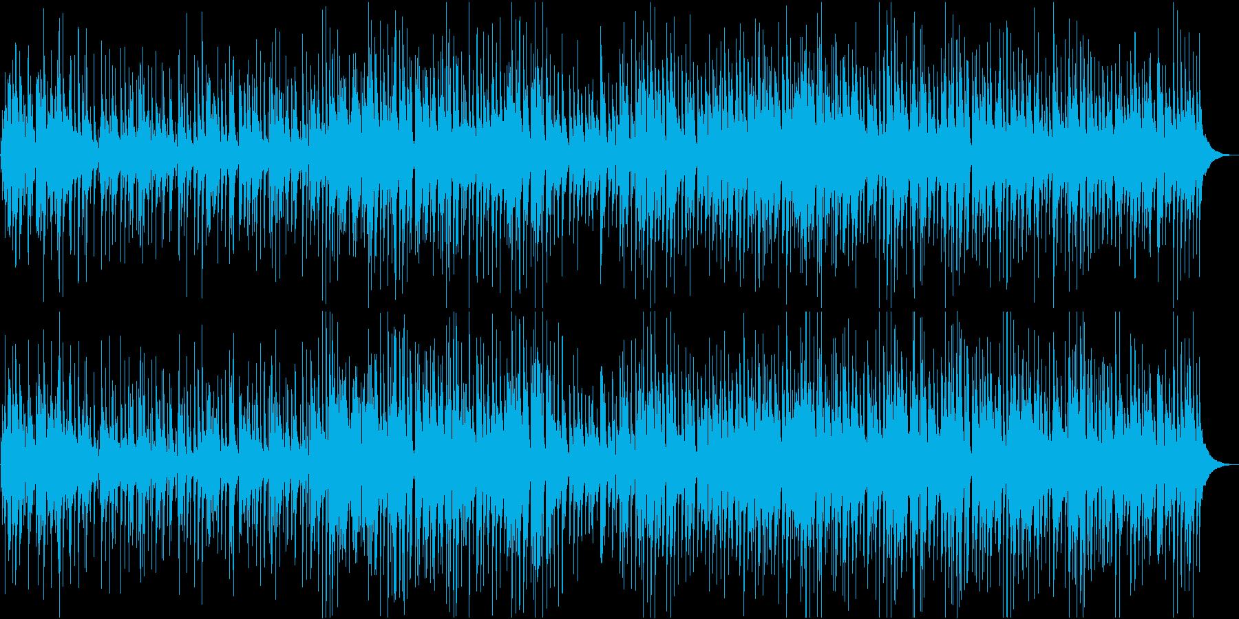 ピアノとギターのしっとりしたジャズの再生済みの波形