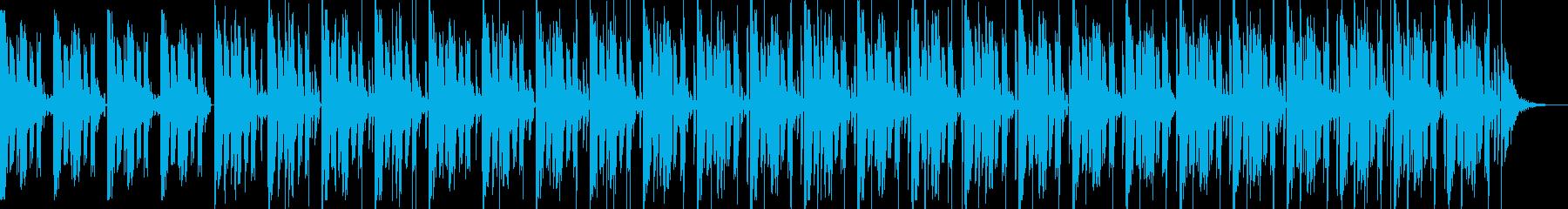 アンビエントな大気シンセパッドとサ...の再生済みの波形