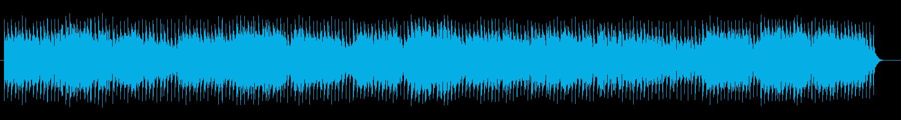 シリアスで宇宙感のあるシンセサウンドの再生済みの波形