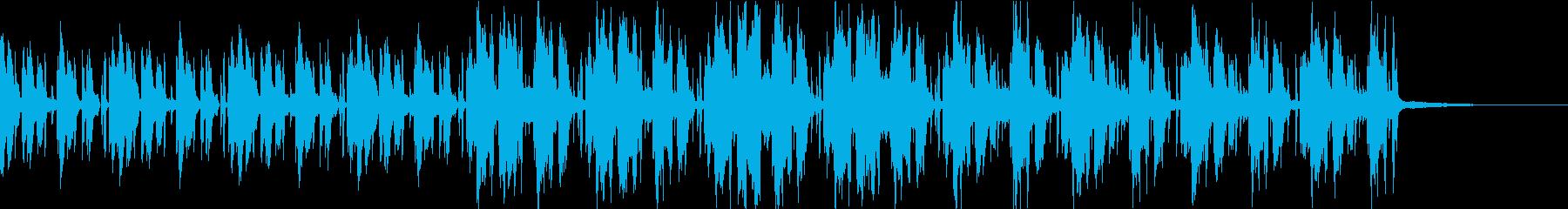 Pf「盗」和風現代ジャズの再生済みの波形