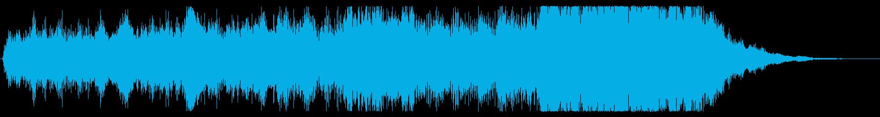 ジングル オーケストラ 壮大 勇壮の再生済みの波形
