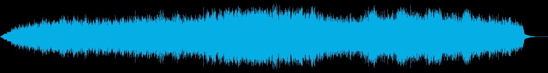 上昇アクション:低音、SCI FI...の再生済みの波形
