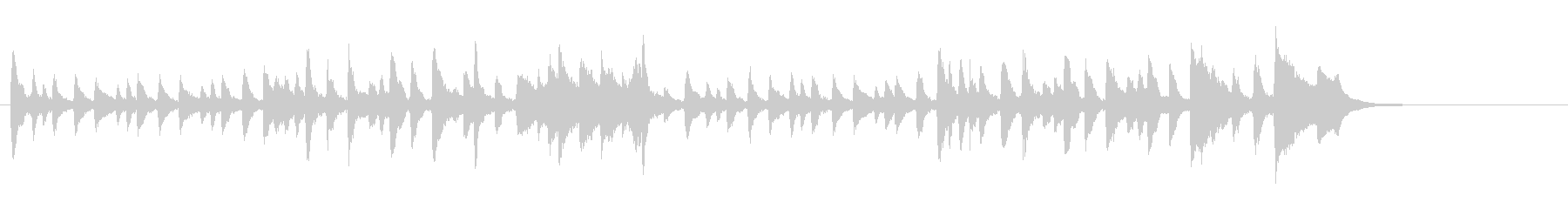 ダチョウ(ヴェローヌ作曲)の未再生の波形