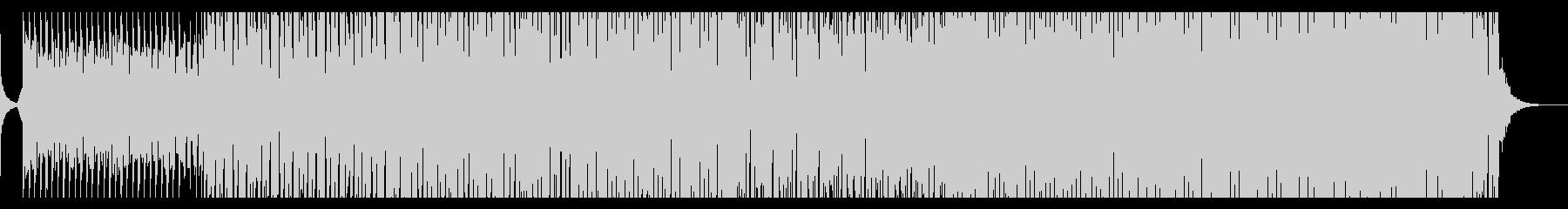 心躍るサマーポップの未再生の波形