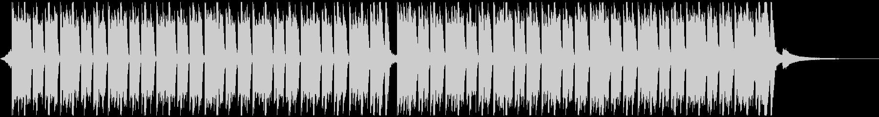 スポーツ音楽(40秒)の未再生の波形