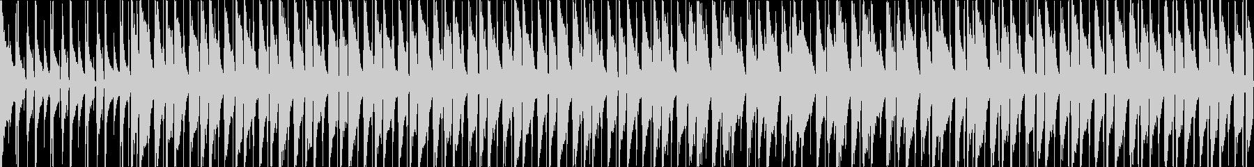 【ループ版】ウクレレとグロッケンの軽快での未再生の波形