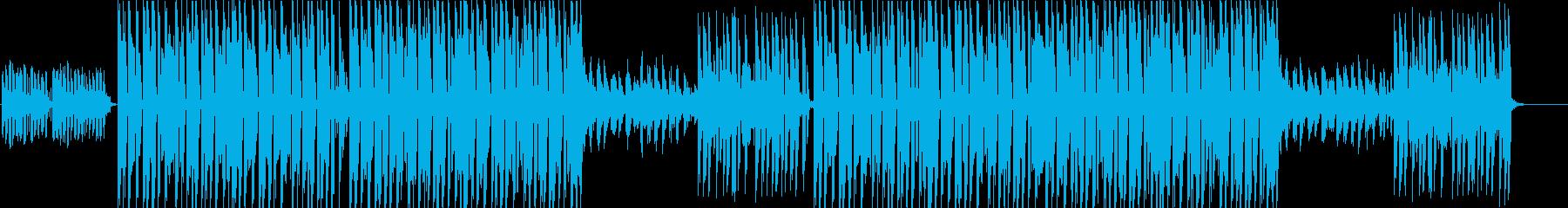 sugaercrashの様な可愛いビートの再生済みの波形