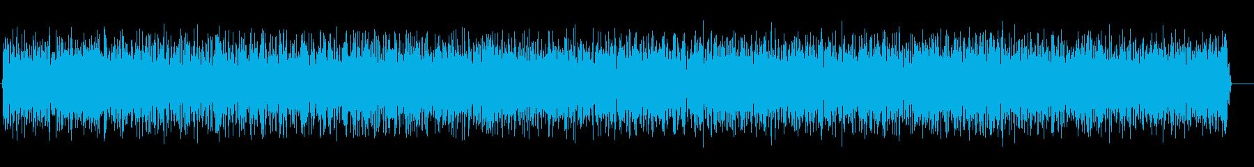 ザーッ(一定のノイズ)の再生済みの波形