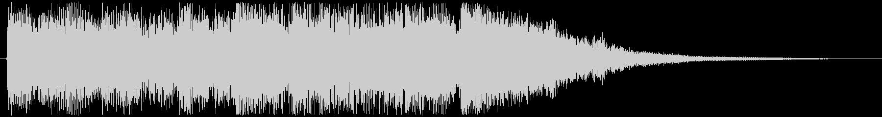 映像・ジングルわくわくするファンクの未再生の波形