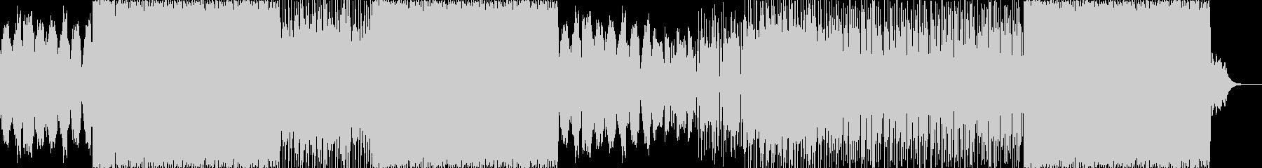 トラップ系のバランスのとれた楽曲の未再生の波形
