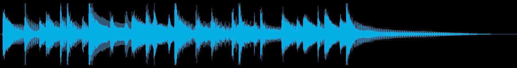 CM、Youtube等、ウクレレジングルの再生済みの波形