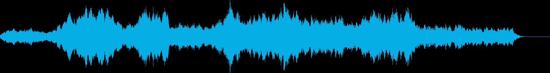 シンセストリングスによるサスペンスの再生済みの波形