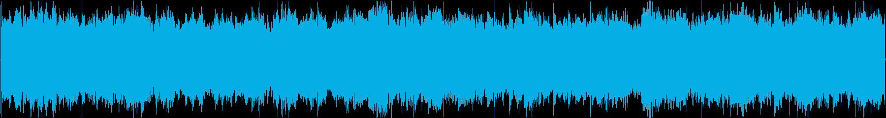 爽やかでほんのり楽しげなループBGMの再生済みの波形