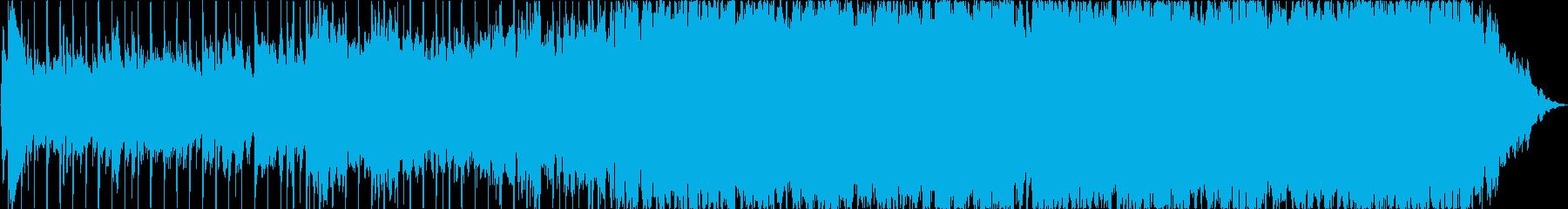 ハロウィーンやその他の不気味なアプ...の再生済みの波形