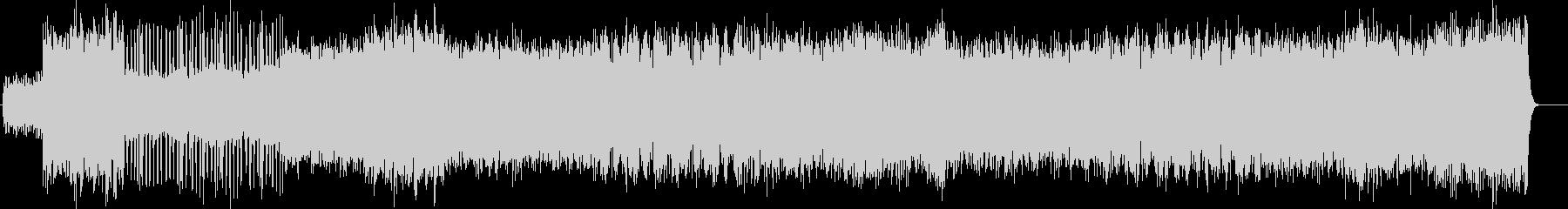 リズミカルなオーケストレーションの未再生の波形