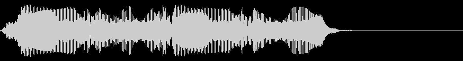 プワプワ(アラーム音・通知音・呼び出し)の未再生の波形
