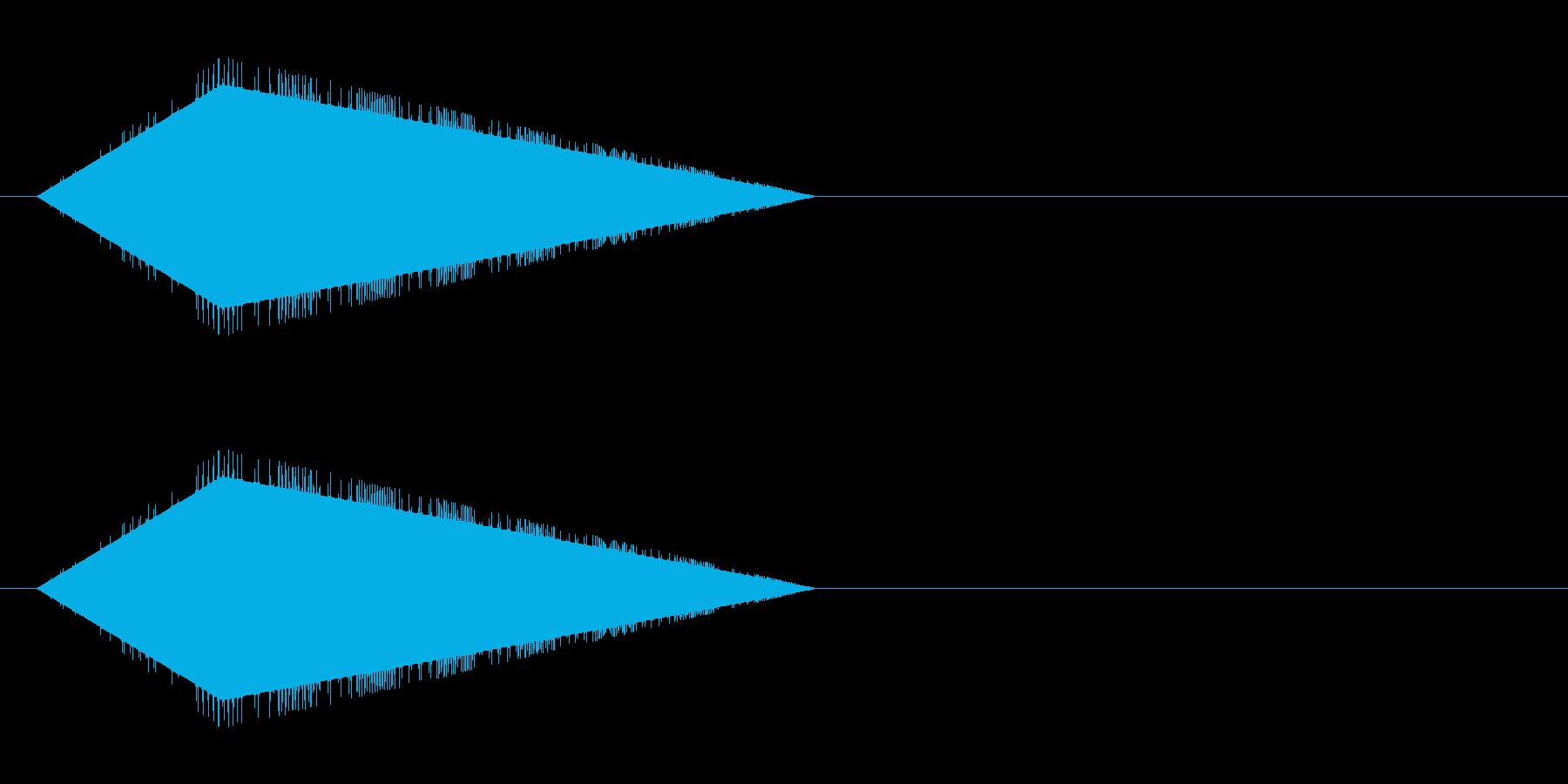 レトロゲーム風・魔法詠唱#6の再生済みの波形