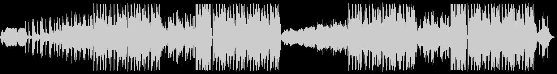 尺八と琴の和風EDMの未再生の波形