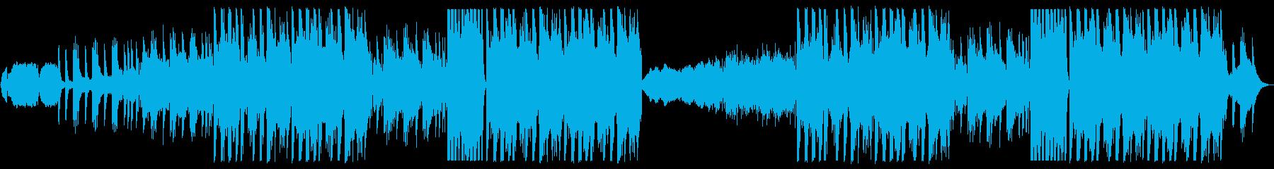 Japanese style EDM of shakuhachi and koto's reproduced waveform