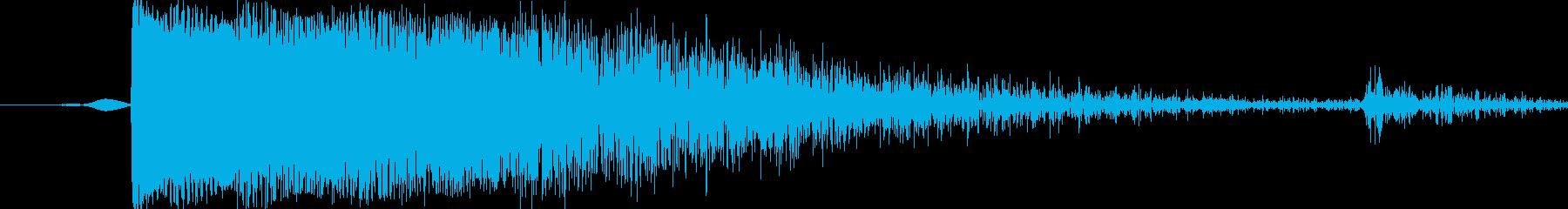 メタルヒット8の再生済みの波形