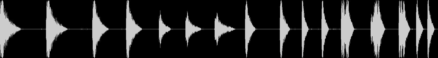レーザーショットザップ高速アーケードの未再生の波形