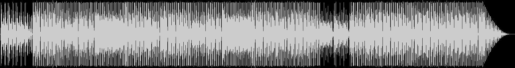 シンプルなフュージョン系インスト曲ですの未再生の波形
