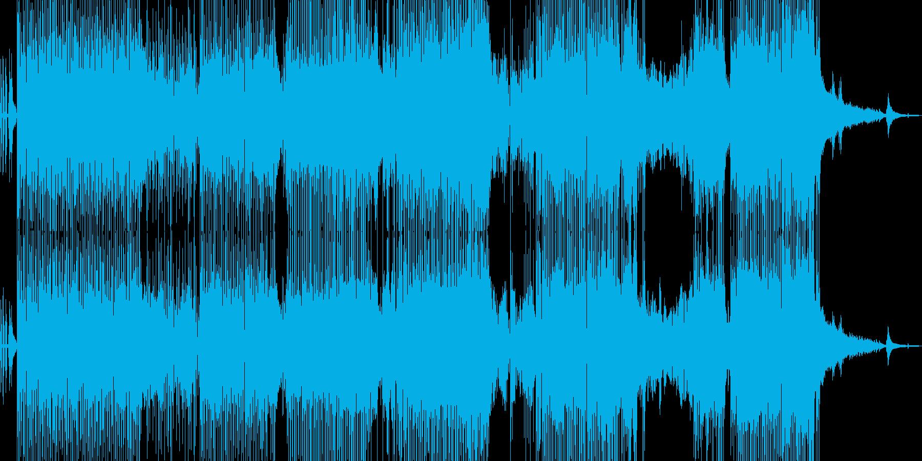 バイオリン・涼しい雰囲気のポップ 長尺の再生済みの波形