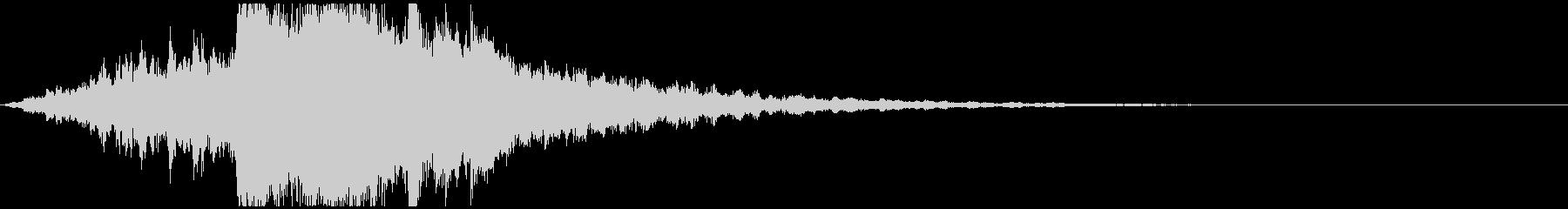 VP映像など 幻想的ピアノサウンドロゴの未再生の波形