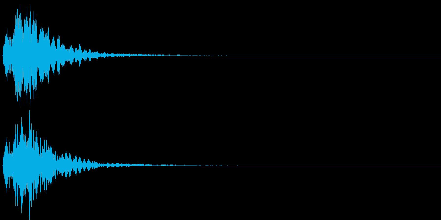キラン/シャキーン☆星,光,魔法効果音1の再生済みの波形