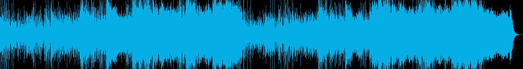 宇宙 深海のイメージの再生済みの波形