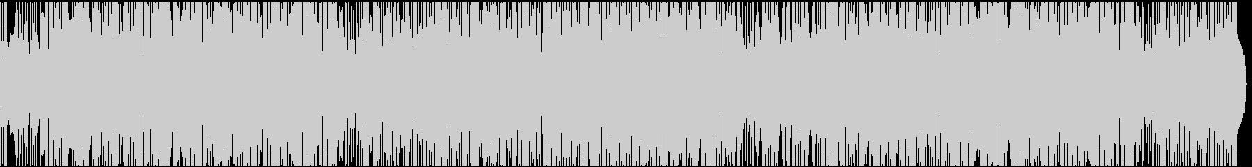 爽やか雰囲気の風が感じられるBGMの未再生の波形